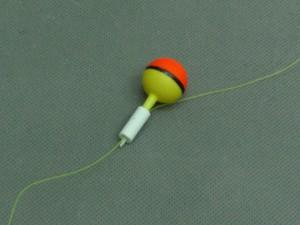 釣り具ウキ用パイプ 使用例