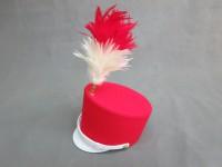 パイプ圧着加工品使用例:マーチングバンド帽子