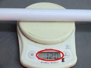 軽量化された塩ビパイプ 外径27㎜φ 厚み1mm